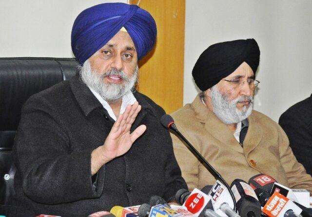 press conference sukhbir