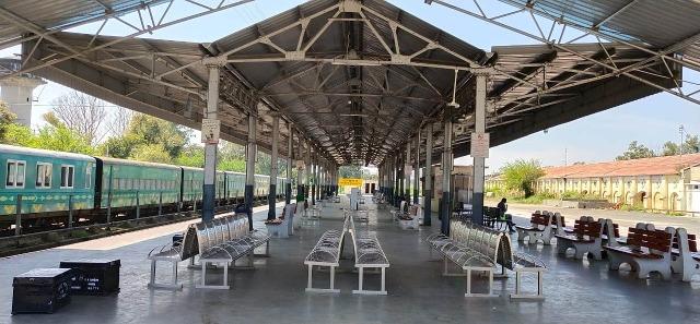 Railway station ptk
