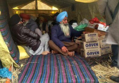 पुख्ता इंतजामों के साथ विभिन्न स्थानों से दिल्ली के लिए रवाना हुए किसानों के जत्थे